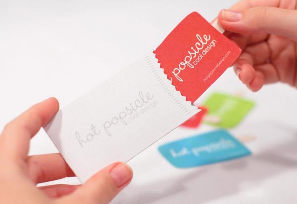 thiết kế name card đơn giản