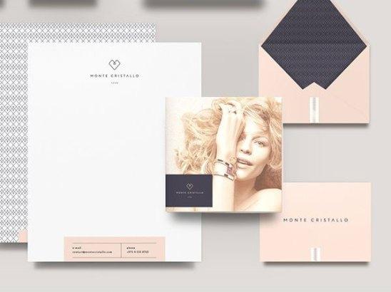 thiết kế in ấn giấy tiêu đề - phong bì thư