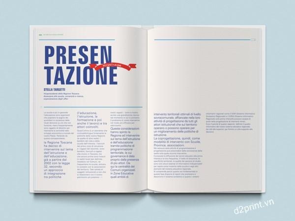 20 thiết kế in báo cáo thường niên đẹp - h01