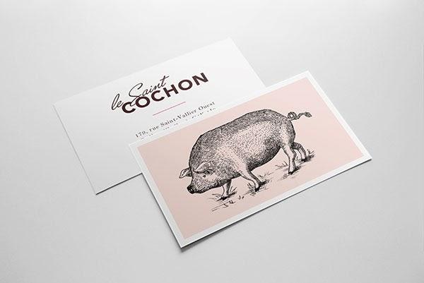 20 ý tưởng thiết kế in name card nhà hàng - h01
