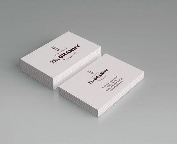 20 ý tưởng thiết kế in name card nhà hàng - h07