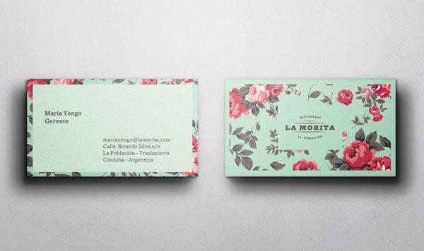 20 ý tưởng thiết kế in name card nhà hàng - h10
