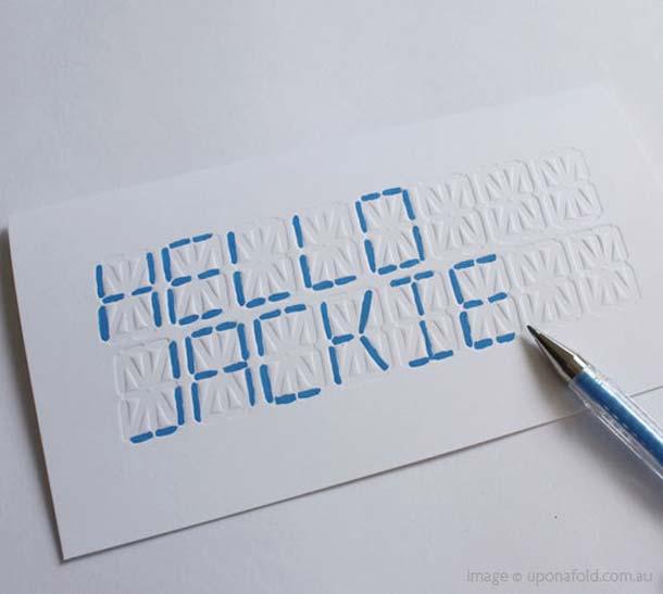 15 Unreal Letterpress Business Cards - 10