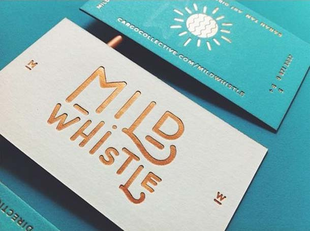 15 Unreal Letterpress Business Cards - 11