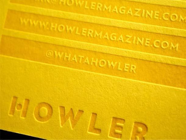 15 Unreal Letterpress Business Cards - 15