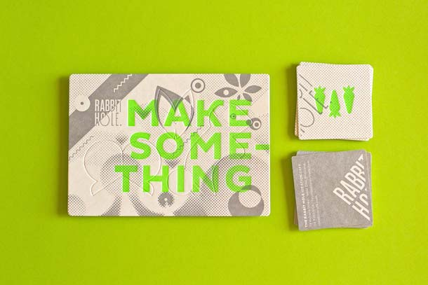 15 Unreal Letterpress Business Cards - 1