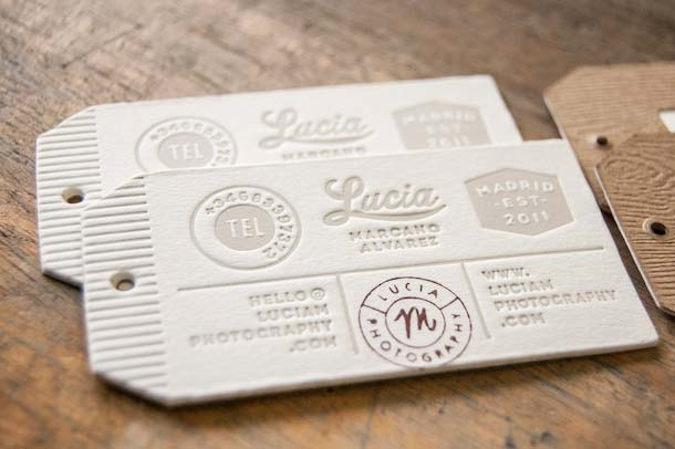 15 Unreal Letterpress Business Cards - 4