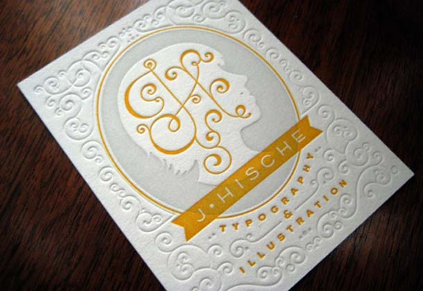 15 Unreal Letterpress Business Cards - 6
