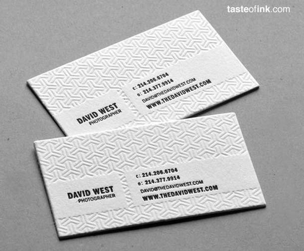 15 Unreal Letterpress Business Cards - 9